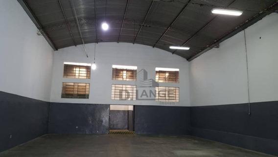Barracão Para Alugar, 323 M² Por R$ 6.200,00/mês - Jardim Do Trevo - Campinas/sp - Ba1077