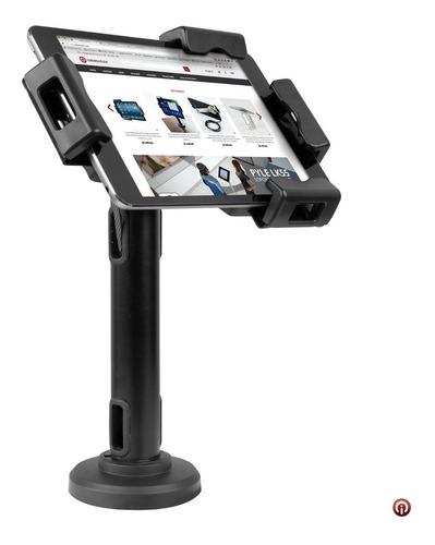 Soporte Fijo Seguridad Para iPad Tablet Chicote Acero Llave