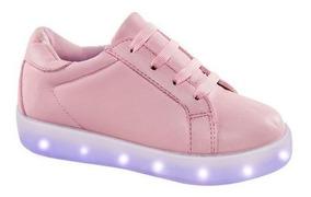 Tenis Casual Urban Shoes Led En Suelas Usb Incluida 169708