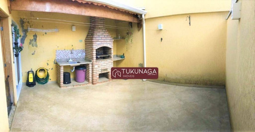 Sobrado Com 3 Dormitórios À Venda, 141 M² Por R$ 650.000,00 - Jardim Independência - São Paulo/sp - So1027