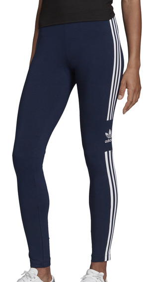 Calza adidas Originals Moda Trefoil Tight Mujer Az/bl