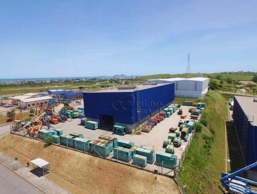 Imagem 1 de 5 de Galpão Para Locação Em Polo Industrial, Cabiúnas, Macaé/rj. - Ga0024