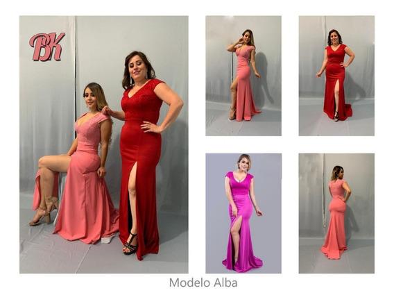 Vestido De Fiesta Modelo Alba