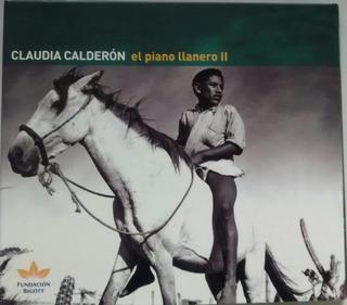 C.d. Piano Llanero Ii - Claudia Calderon