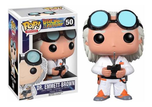Dr. Emmett Brown 50 Volver Al Futuro Back  Future Funko Pop