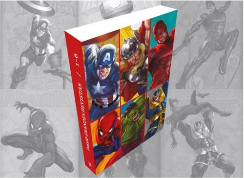Imagem 1 de 1 de Supercombo Heroica 1 - Dossiês 1 A 6 + Caixa + Extras - Vol