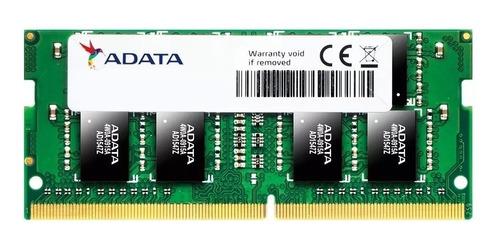 Memória Para Notebook Adata Premier 16gb 2666mhz Ddr4