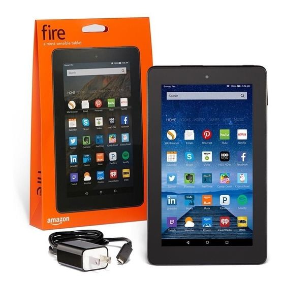 Tablet Kindle Fire De 7 (5ta Gen) Wifi 8gb Quadcore 1gb Ram