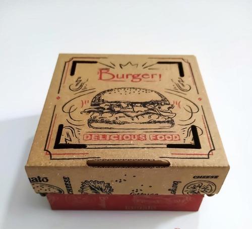 Cajas De Hamburguesa-paquete De 100 Unidades