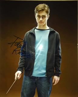 Autógrafo De Harry Potter, Certificado Daniel Radcliffe