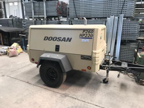Motocompresor Doosan  P260 Hp220