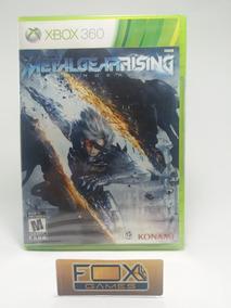 Xbox Jogo Metal Gear Rising Revengeance