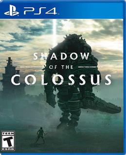 Shadow Of The Colossus Ps4 Fisico + Envio Gratis