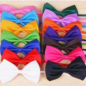 Moño Pajarita Corbata Ajustable Unisex Varios Colores