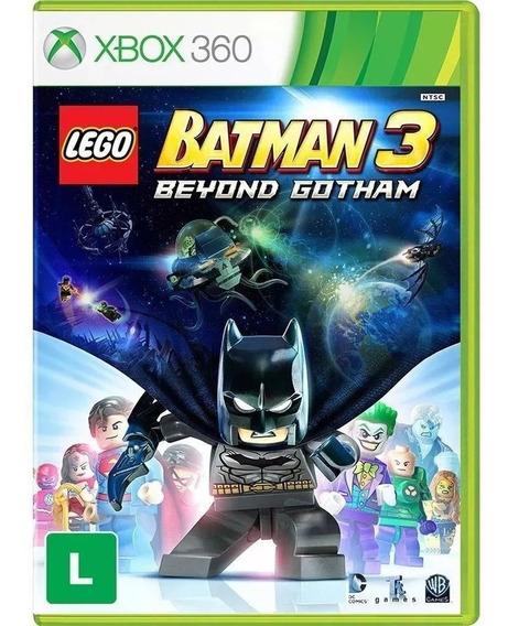 Jogo Lego Batman 3 Xbox 360 Mídia Física Original