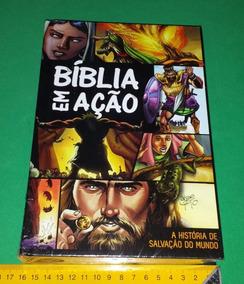Biblia Em Ação - História Da Salvação Do Mundo - Livro Novo