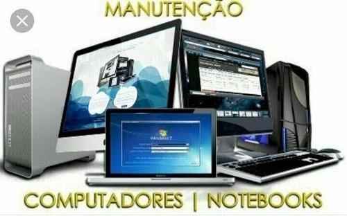 Imagem 1 de 4 de Manutenção De Computadores Notebook