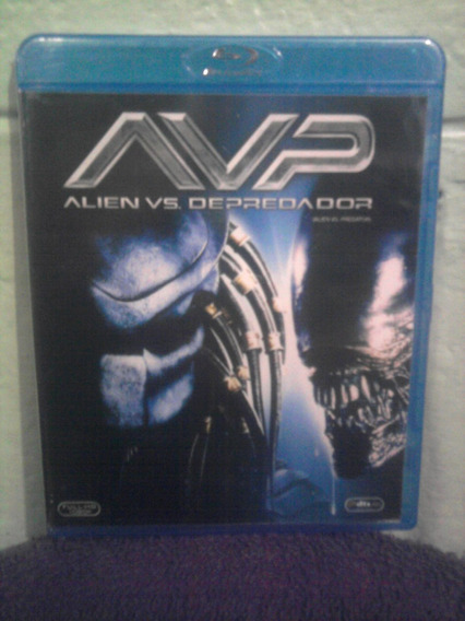 Blu Ray Alien Vs Depredador 1 Terror Mutante Ciencia Ficción