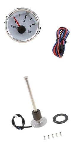 Sensor De Nivel De Agua De Barco Marino 200 Mm Con Medidor
