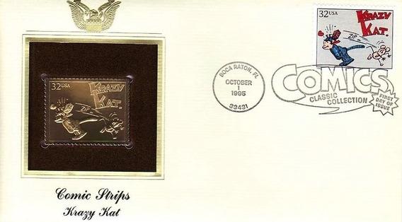 Gold Stamp: Krazy Kat