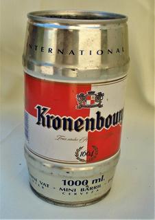Cerveza Kronenbourg Lata De 1 Litro Vacia De Coleccion