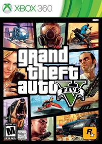 Gta V Xbox 360 Mídia Física Lacrado Original Leg Pt Br