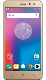 Usado: Lenovo Vibe K6 Dourado 32gb Muito Bom - Trocafone
