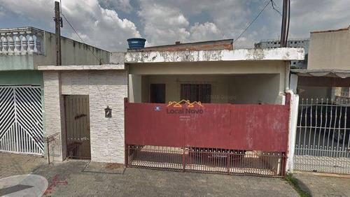 Casa Para Alugar, 70 M² Por R$ 1.100,00/mês - Jardim Do Papai - Guarulhos/sp - Ca0209