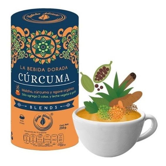 Matcha Leche Dorada Golden Milk Cúrcuma Orgánico Vegano 250