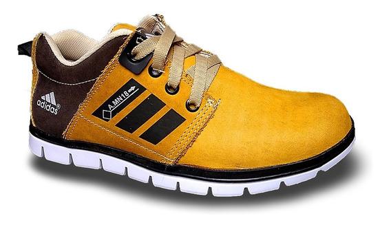 Zapato Deportivo Adidaass De Cuero Para Caballero Botas
