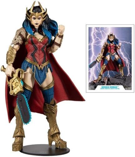 Imagen 1 de 3 de Wonder Woman Death Metal Dark Father Dc Multiverse Mcfarlane