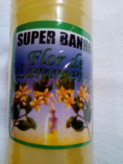 Banho Flor De Larangeira 100/ Puro Para Renovar As Energias