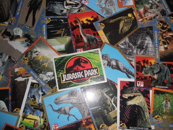 Lote De 35 Tarjetas Diferentes De Jurassic Park ( Topps )