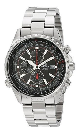 Reloj Multifuncion De Acero Inoxidable Ef527d-1av De Casio M