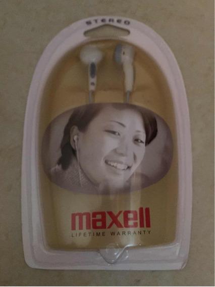 Audífonos Stereo Marca Maxell