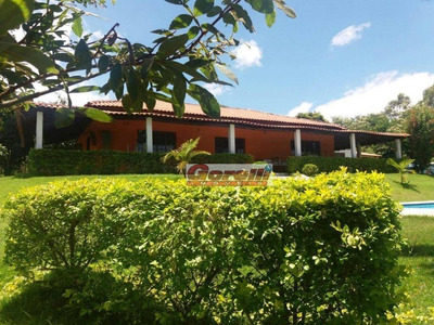 Chácara Com 3 Dormitórios À Venda, 5500 M² Por R$ 800.000 - Guararema - Guararema/sp - Ch0096