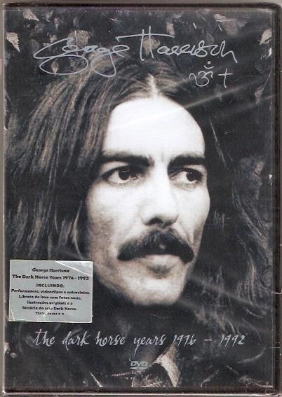 Dvd George Harrison - The Dark Horse Years 1976 / 1992 -