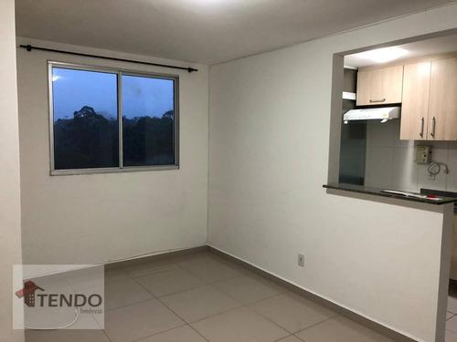 Imagem 1 de 24 de Apartamento 48 M² - Venda - 2 Dormitórios - Parque São Vicente - Mauá/sp / Imob03 - Ap1614