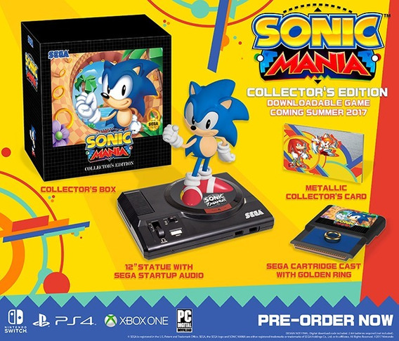 Sonic Colectores Edition Ps4