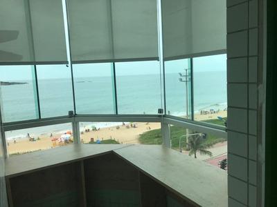 Murano Imobiliária Aluga Apartamento De 3 Quartos Frente Mar Na Praia Da Costa, Vila Velha - Es. - 2781