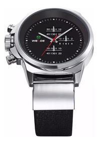 Relógio De Pulso Masculino Weide Modelo Wh3305-1c