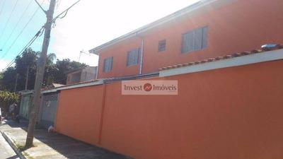 Sobrado Residencial À Venda, Parque Interlagos, São José Dos Campos. - So0932
