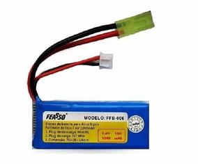 Bateria Lipo 7.4v 15c 1200mah Ideal Linha Ares Amoeba