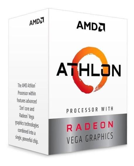 Processador Amd Athlon 200ge Cache 3.2ghz Am4 Yd200gc6fbbox
