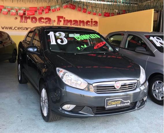 Fiat Grand Siena 1.4 Attractive 8v Flex 2013 Completo