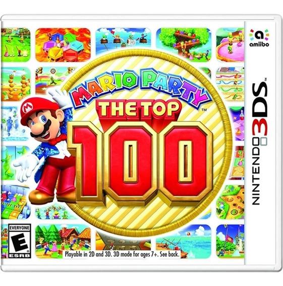 Mario Party The Top 100 - 3ds Lacrado