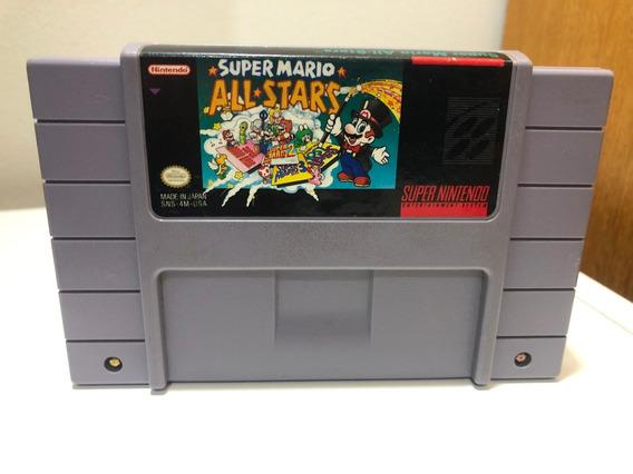 Super Mario All Stars Super Nintendo Snes Original