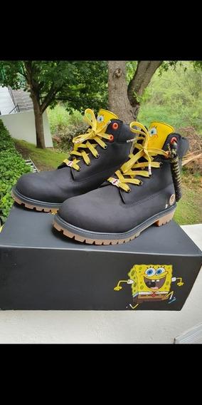 Bota Timberland X Spongebob Edición Limitada