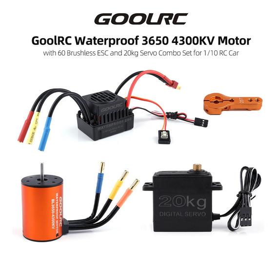 Goolrc Combinado Goolrc 3650 4300kv Motor 60 Brushless Esc 2