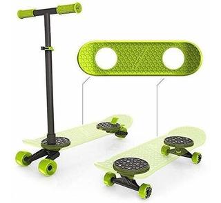 Morfboard Skate & Scoot Combo, 2-en-1 Kick Scooter Para Nino